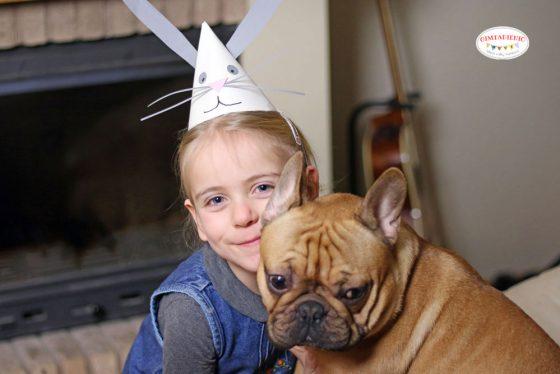 gimtadienio kepurėlė kiškis