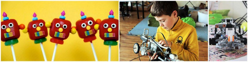 gimtadienis lego robotai
