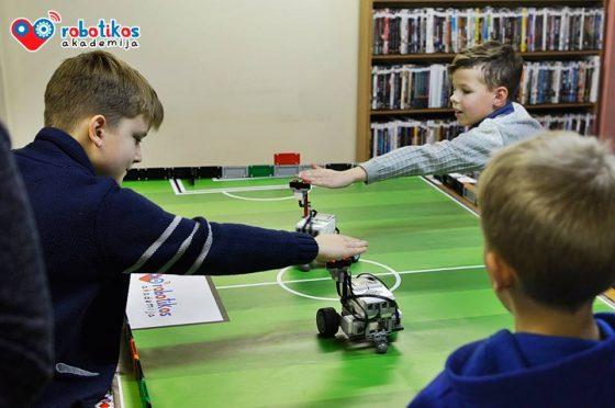 lego robotikos būreliai