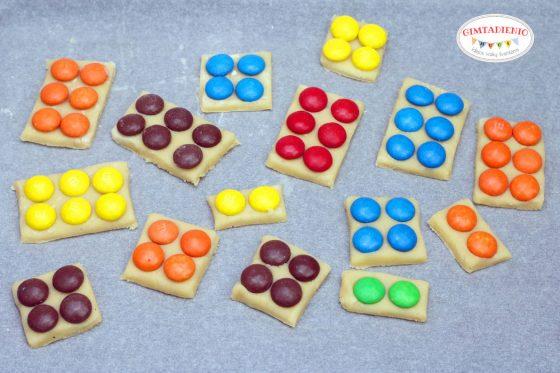 vaikiški sausainiai lego