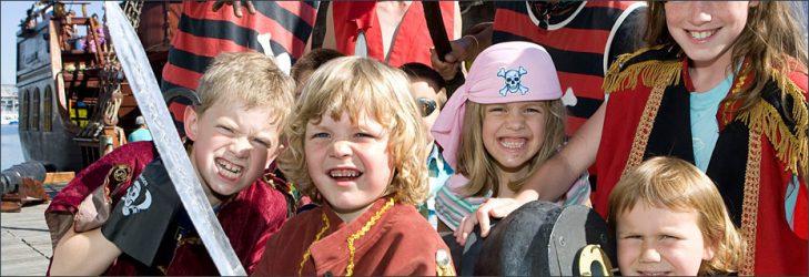 vaikų gimtadienis piratai