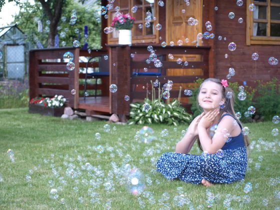 muiloburbulai vaikų šventei