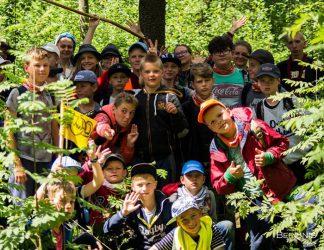 vaikų šventė gamtoje