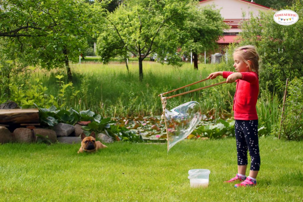 muilo burbulai vaikams gimtadienio mugė