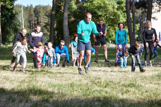 sportiškas vaikų gimtadienis