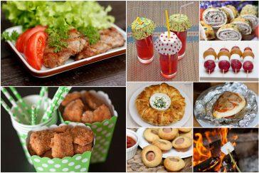 top 20 patiekalų vaikų gimtadieniui gamtoje