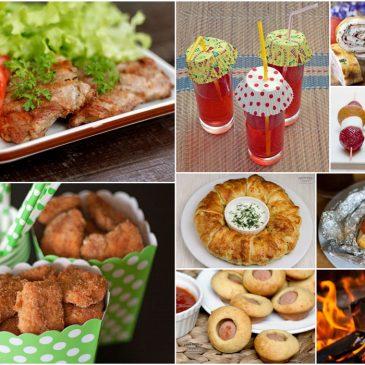 Top 20 patiekalų vaikų gimtadienui gamtoje