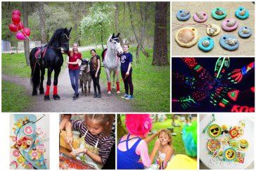 20 idėjų smagiam mergaitės gimtadieniui