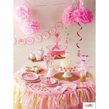 mergaitės gimtadienis dekoras