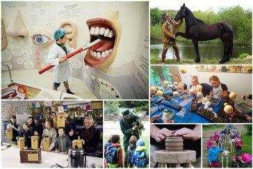 edukacinės programos mokykloms ką įdomaus aplankyti pamatyti patirti