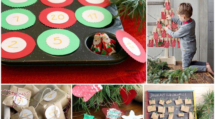 5 idėjos advento kalendoriui jaukiam kalėdų laukimui