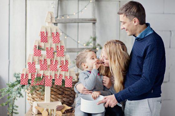 advento kalendorius visai šeimai