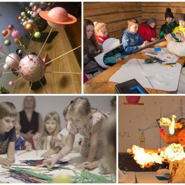 gimtadienis smalsiems ir sumaniems vaikams ką pasiūlyti mažiesiems žiniukams