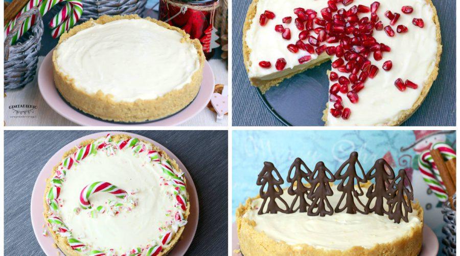 Greitas kalėdinis sūrio tortas ir 3 būdai, kaip jį papuošti
