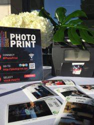 nuotraukų spausdintuvas nuoma šventei
