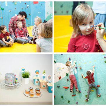 Aktyviai ir smagiai – laipiojimo gimtadienis 3-5 metų vaikams