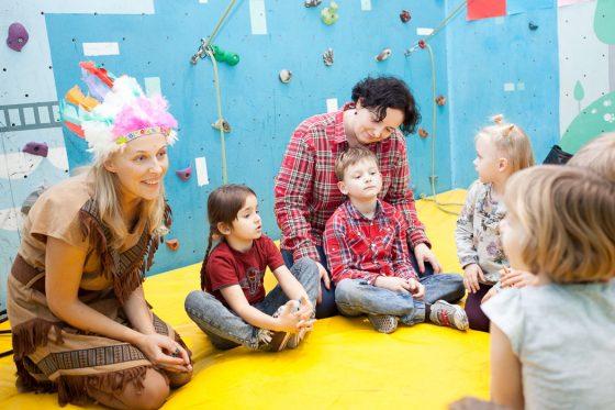 indėnišas gimtadienis su vaikais