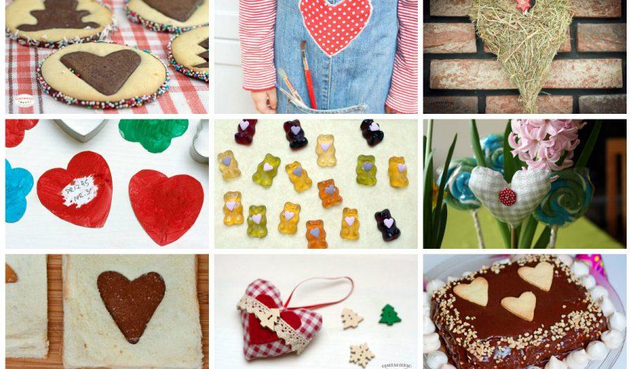 Širdelės Valentino dienai su vaikais – 15 idėjų