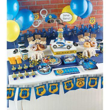 berniuko gimtadienis policijos tema