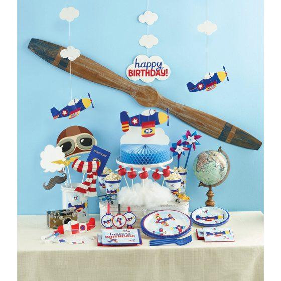 gimtadienis vaikams lėktuvai