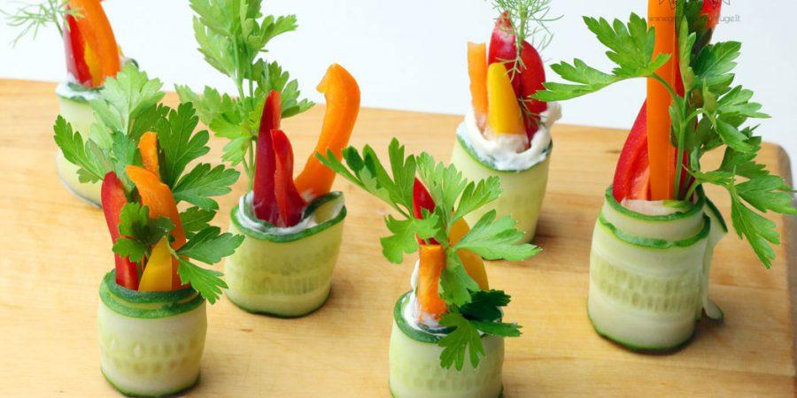 Agurkų suktinukai – iš serijos: daržovės vaikų šventei