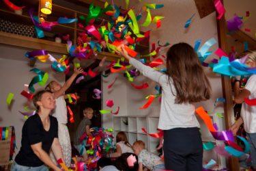 vaikų šventė idėjos