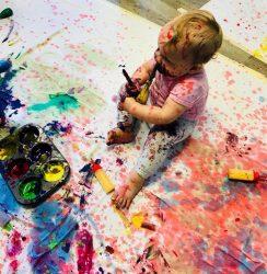 vaiko gimtadienis ne žaidimų kambaryje
