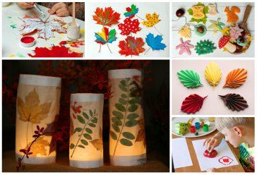 rudens darbeliai ikimokyklinukams 6 paprastos idėjos