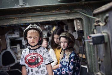 kariškas gimtadienis vaikams