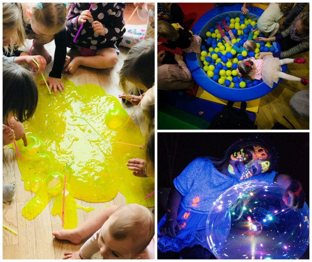 gimtadienis žaidimų kambaryje mažiausiems