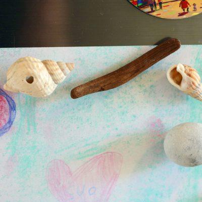 kriauklės kankorėžiai akmenukai ką nuveikti su atostogų lobiais
