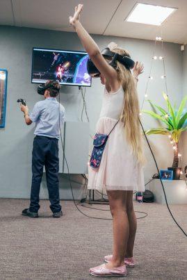 vaiko gimtadienis virtualis realybė