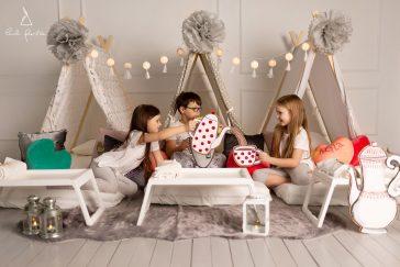 išsvajotas pižamų vakarėlis be rūpesčių tėvams