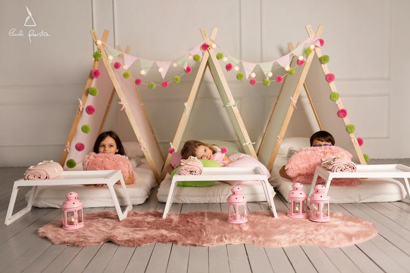 pižamų vakarėlis mergaitėms idėjos