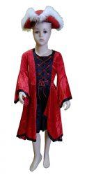 rūmų damos kostiumas nuoma