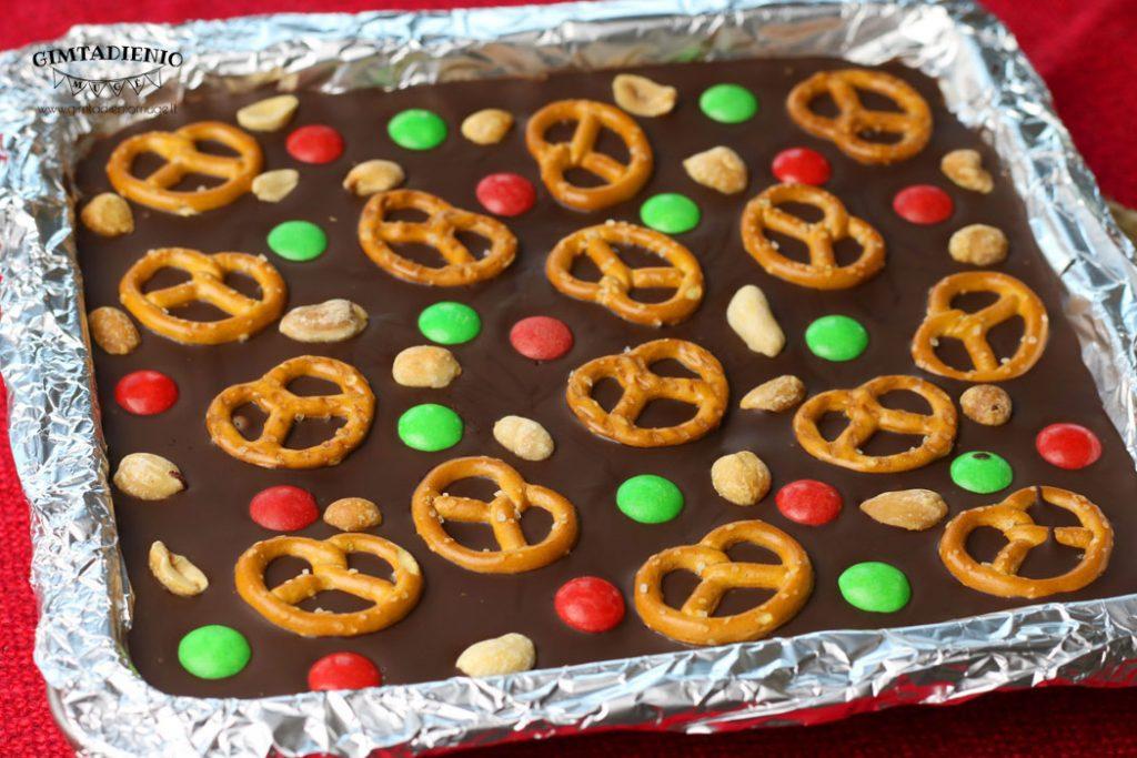 kalėdinis šokoladas receptas