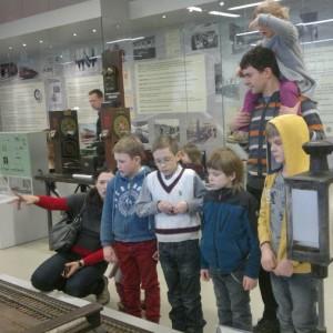 Geležinkelių muziejuje daug įdomybių!