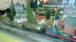 Geležinkelių muziejus – traukinių maketas