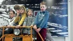 Teminis gimtadienis berniukams ir mergaitėms traukinių muziejuje