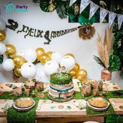 dinozaurų gimtadienis dekoracijos idėjos