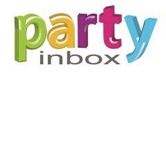 party inbox logotipas