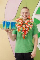 gimtadienis havajų tema