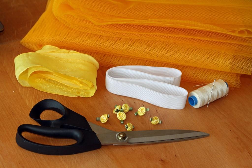 Pasiruošiame viską, ko reikės tiulio sijonėliui