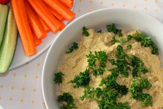 humusas receptas