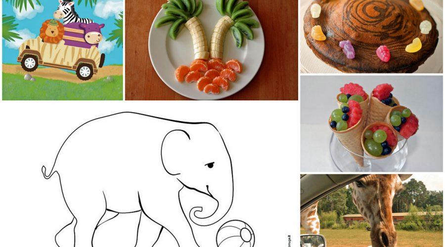 safario gimtadienis arba dziungliu svente