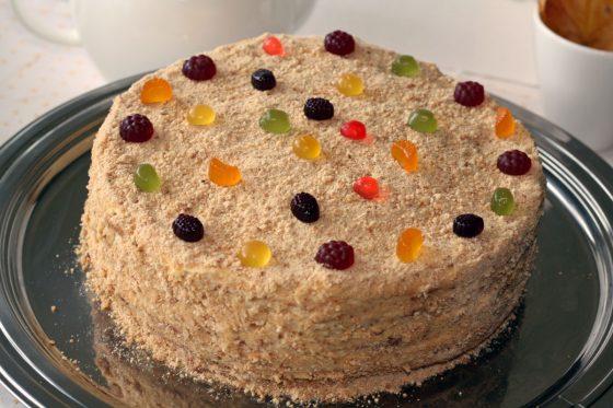 kaip papuoti medaus tortą