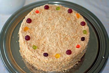 medaus tortas receptas gimtadienio mugė