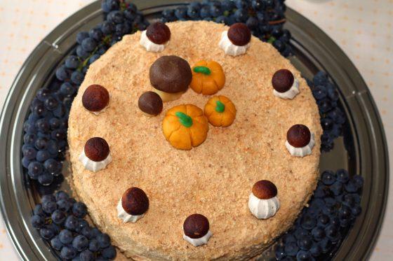 rudeninis tortas vaikams