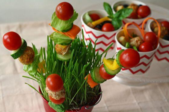 daržovių vėrinukai vaikams, gimtadienio mugė