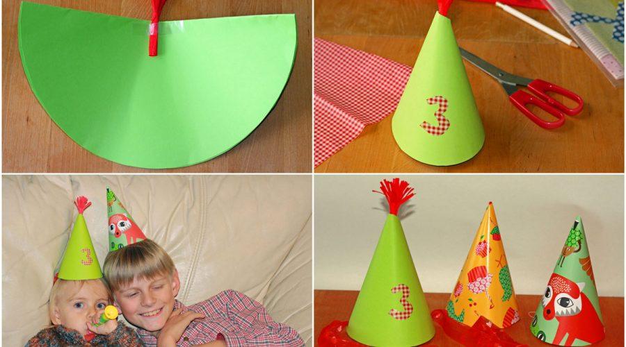 Gimtadienio kepurėlės kaip pasidaryti